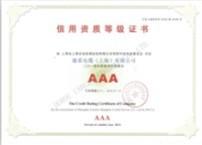 德柔电缆AAA级信用等级认证