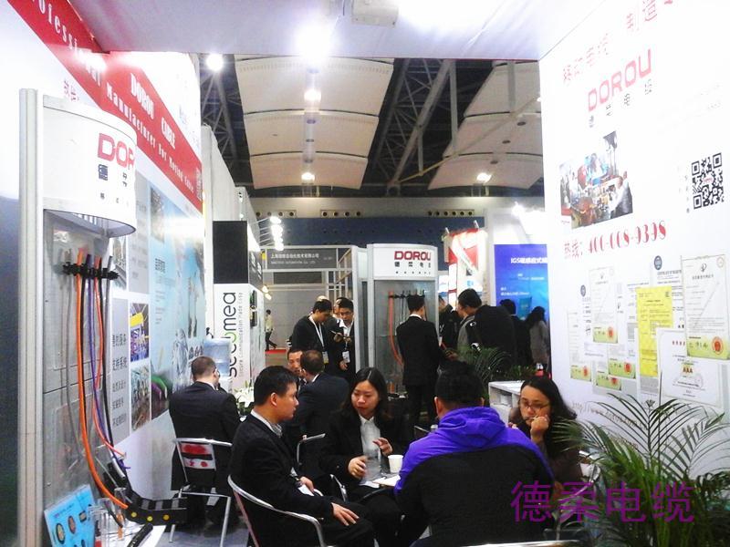 德柔参展现况2015siaf广州国际工业自动化技术及装备展览