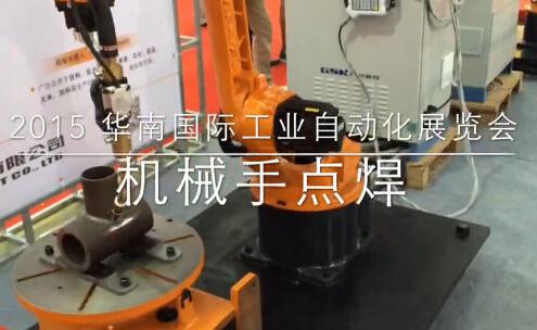 德柔电缆参展现况 2015深圳华南国际工业自动化展